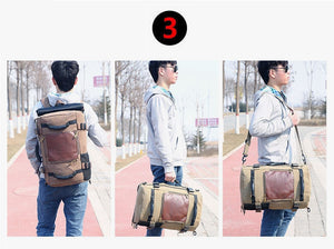 Versatile Backpack-Shoulder Bag-Satchel w/handle!   On Sale Now!