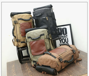 Vintage Canvas Backpacks