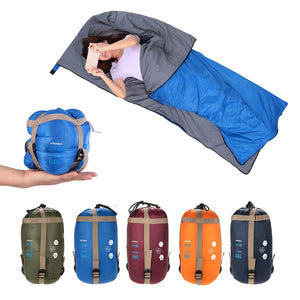 Outdoor Envelope Sleeping Bag Camping Travel Hiking