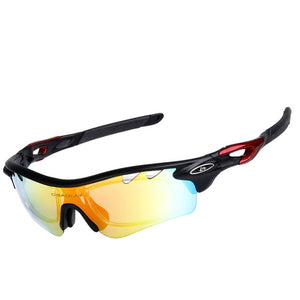 Men's Mountain Bike UV 400 Cycling Eyewear With 5 Lenses
