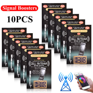10 PCS Cell Phone Signal Booster Gen X