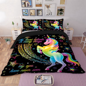 Unicorn Duvet Cover Sets Many Sizes to Choose From  On Sale Now!
