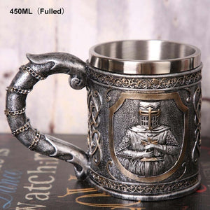 Skull Beer/Coffee Mug-Viking Skull Beer Steins