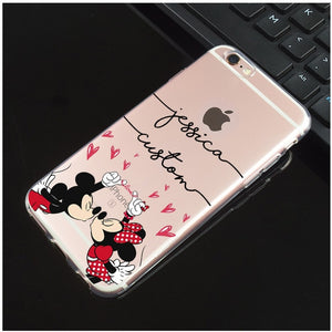 Your Own Design, Pattern or Signature on Back Cover for iPhones