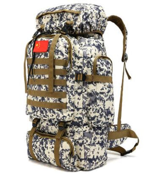70L Camo Backpack