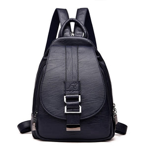 Woman's Leather Day Pack Crossbody          On Sale Now!