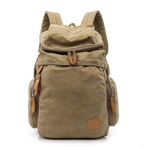 Large Capacity Vintage Backpack