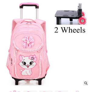 Kids School Backpack On wheels