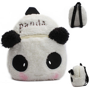 Cartoon Kids Plush Backpack