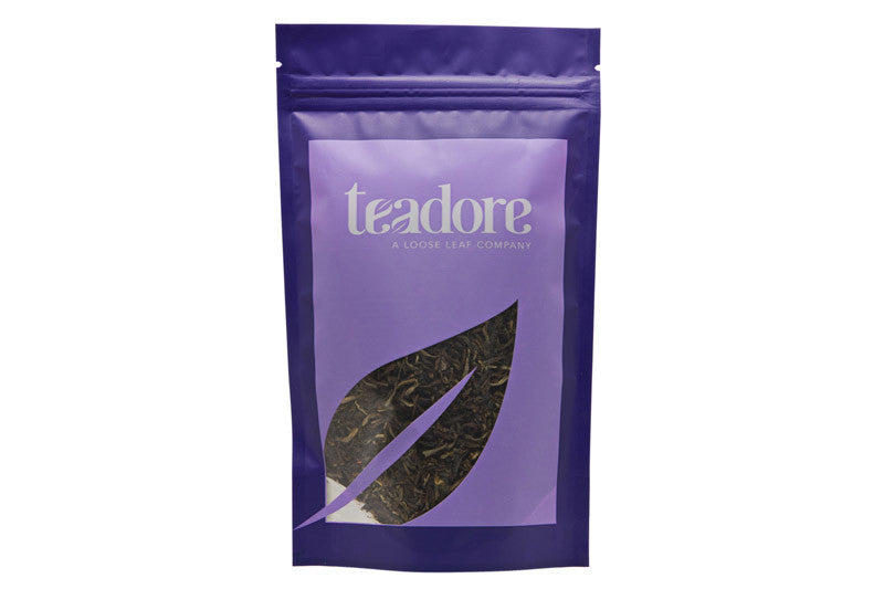 Dazzling Jasmine; Canadian loose leaf tea made with Chinese jasmine green tea, the champagne of green teas