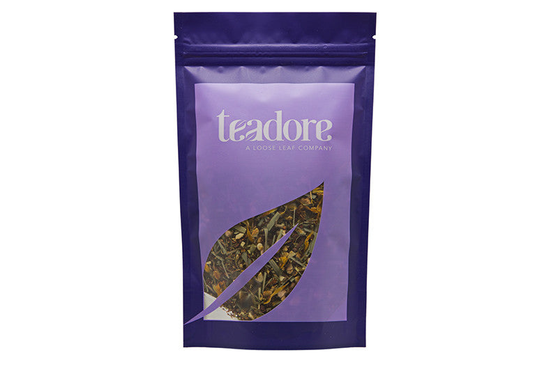 Regal Rooibos: Canadian herbal loose leaf tea made with South African indulgences, rooibos, honeybush and sweetened with stevia
