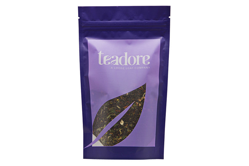 Shades Of Earl Grey: Canadian black loose leaf tea blend, our floral take on an Earl Grey