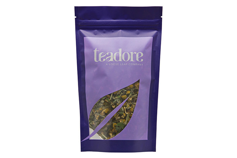 Three Cheers: Canadian herbal loose leaf tea, soothing blend of Alberta grown mint, Egyptian camomile, and lemon