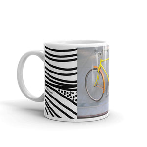 Bicycle Planet Yellow - Mug
