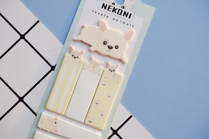 Kawaii Animals Index Sticky Notes - All Written Down