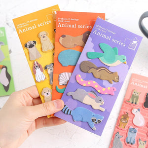 Petting Zoo sticky notes - Set of 8 - All Written Down