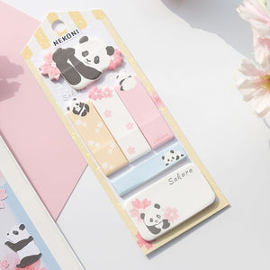 Happy Animals Index Sticky Notes - All Written Down