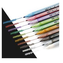 Metallic Permanent Markers- Set of 10 - All Written Down