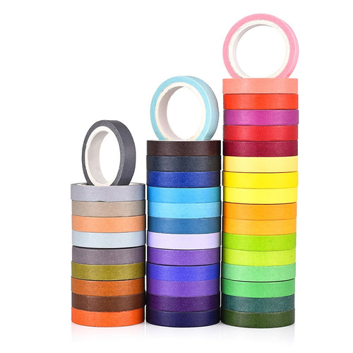 Rainbow Washi Tape | Set of 40
