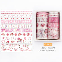 Nature In Colors Washi Tape Series | Set of 10 - All Written Down
