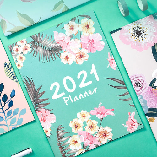 2021 Basic Monthly Planner - All Written Down
