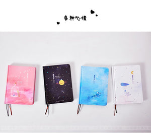 'Our Story Begins' Series- Colored Pages Notebook - All Written Down