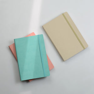 A5 Soft Cover Squared Pages Notebook