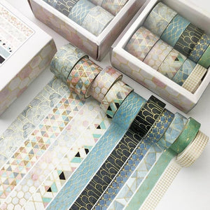 Gold Star Washi Tape - Set of 12 - All Written Down