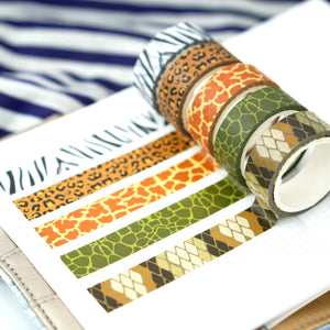 Wild Washi Tape | Set of 5 - All Written Down