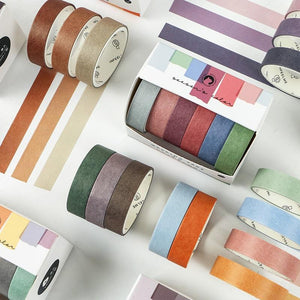 Ombré Washi Tape -  Set of 6 - All Written Down