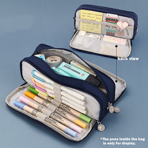 Multifunctional Pencil Case- Large Capacity - All Written Down