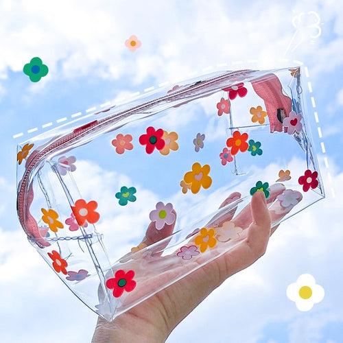 Large Transparent Stationery Organizer
