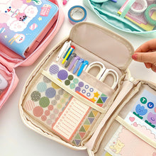 'Very Busy' Kawaii Multilayer Stationery Organizer
