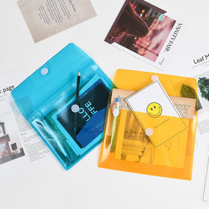 Transparent Color Stationery Organizer