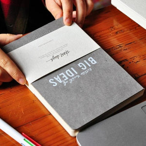 Big Ideas Hardcover Blank Notebook - All Written Down