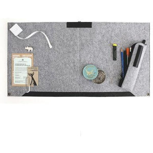 Back To Basic Felt Desk Organizer - All Written Down