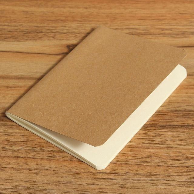 Solid Color Blank Notebook - All Written Down