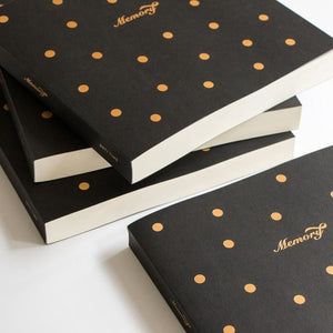 Golden Dots 130 Sheets Sketchbook - All Written Down