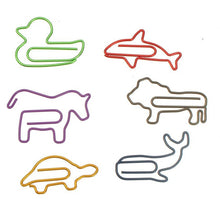 Animal Shaped Paper Clips | 16 pieces - All Written Down