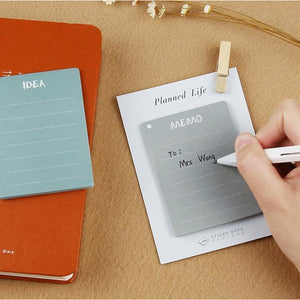 Planned Life Sticky Memo Pads - All Written Down