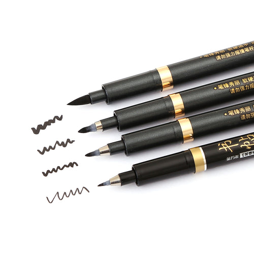 Multi Function Calligraphy Pen Set - 4 Piece - All Written Down