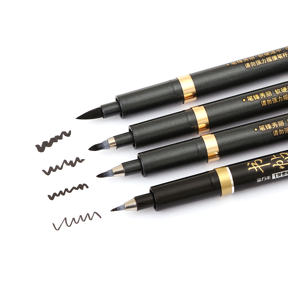 Multi Function Calligraphy Pens - Set of 4 - All Written Down