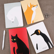Animals Series A5 Blank Notebook - All Written Down