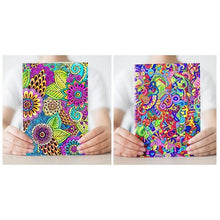 DIY Coloring Cover Notebook Set | 4 Pieces - All Written Down