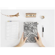 DIY Canvas Coloring Cover Notebook - All Written Down
