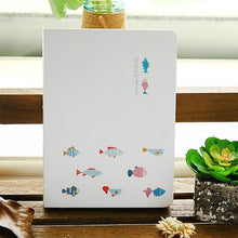 Fishy Hardcover Blank Notebook - All Written Down
