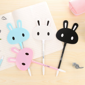 Kawaii Bunny Gel Pens 4 Pieces - All Written Down