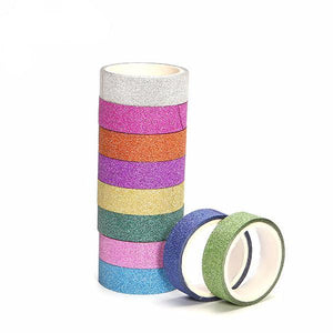 Shiny Adhesive Tape Set | 10 pack - All Written Down