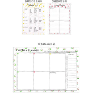 Fruity Memo Planner | 7 Designs - All Written Down