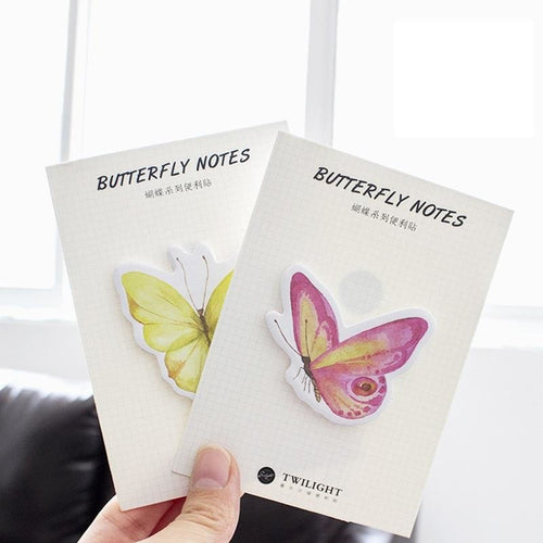Butterfly Sticky Notes | 4 Pads - All Written Down
